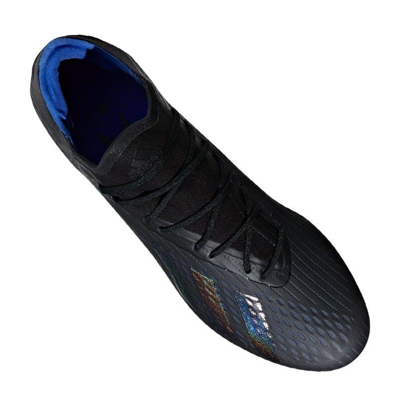 adidas x 18.2 fg schwarz blau
