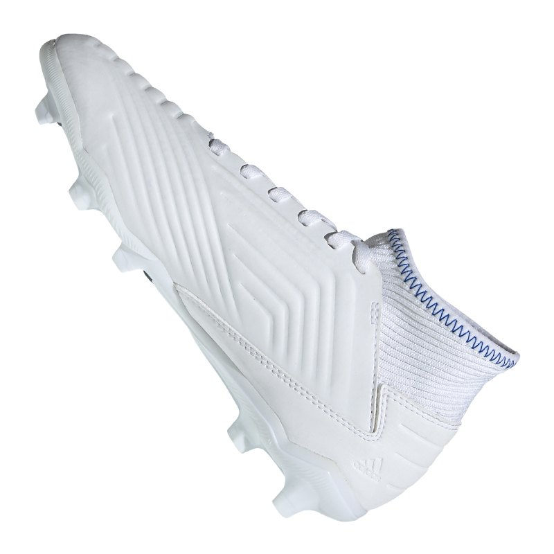 adidas Predator 19.3 FG J Kids Weiss Blau