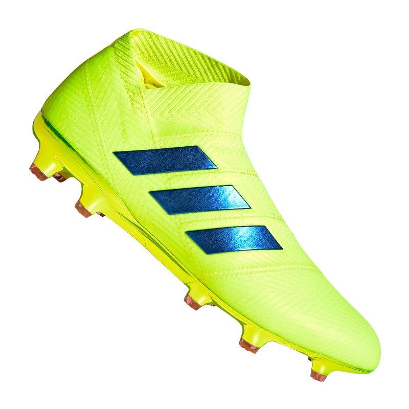 adidas NEMEZIZ 18+ FG Gelb Rot - gelb