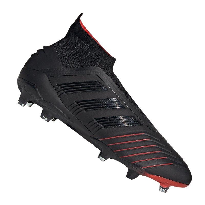 adidas Predator 19+ FG Schwarz - schwarz