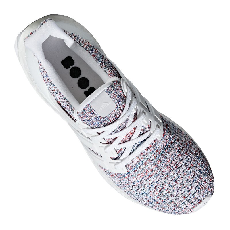 wholesale price huge sale entire collection adidas Ultra Boost Running Damen Weiss Rot