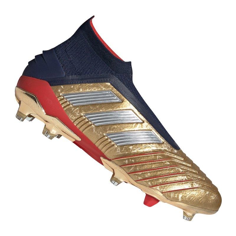 adidas Predator 19+ FG Zidane Beckham Gold - gold