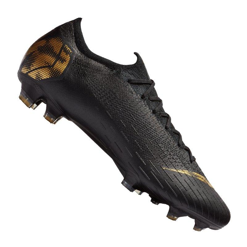 Nike Mercurial Vapor XII Elite FG Schwarz F077 - schwarz