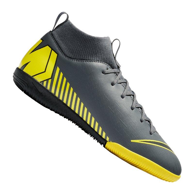 Nike Mercurial SuperflyX VI Academy DF IC Kids 070 - schwarz