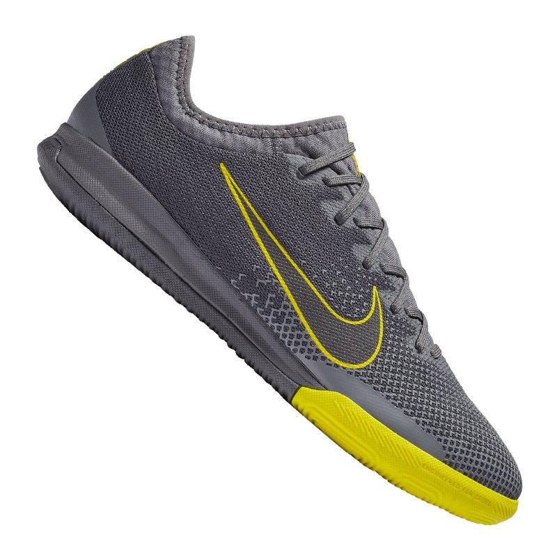 brand new 4b09c e150e Nike Mercurial VaporX XII Pro IC Grau Gelb F070