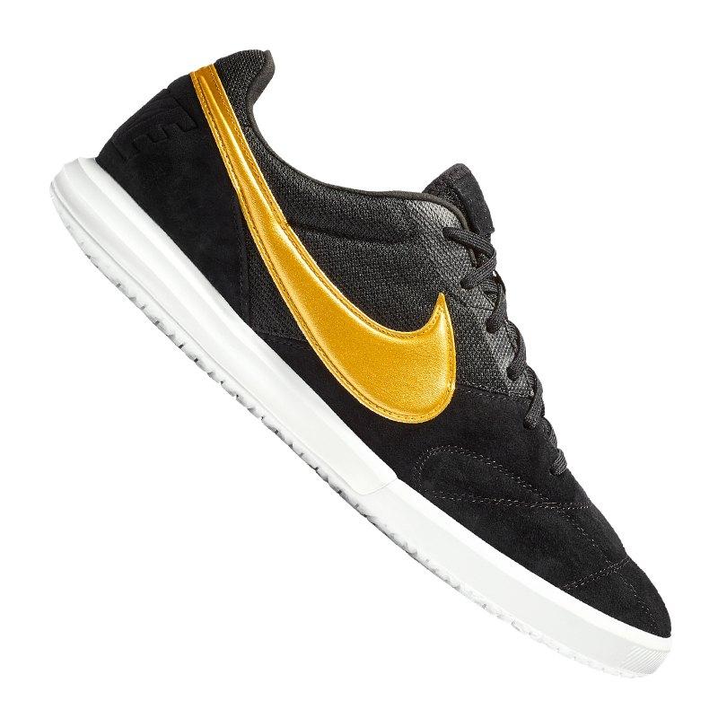 Nike Premier II Sala IC Schwarz F077 - schwarz
