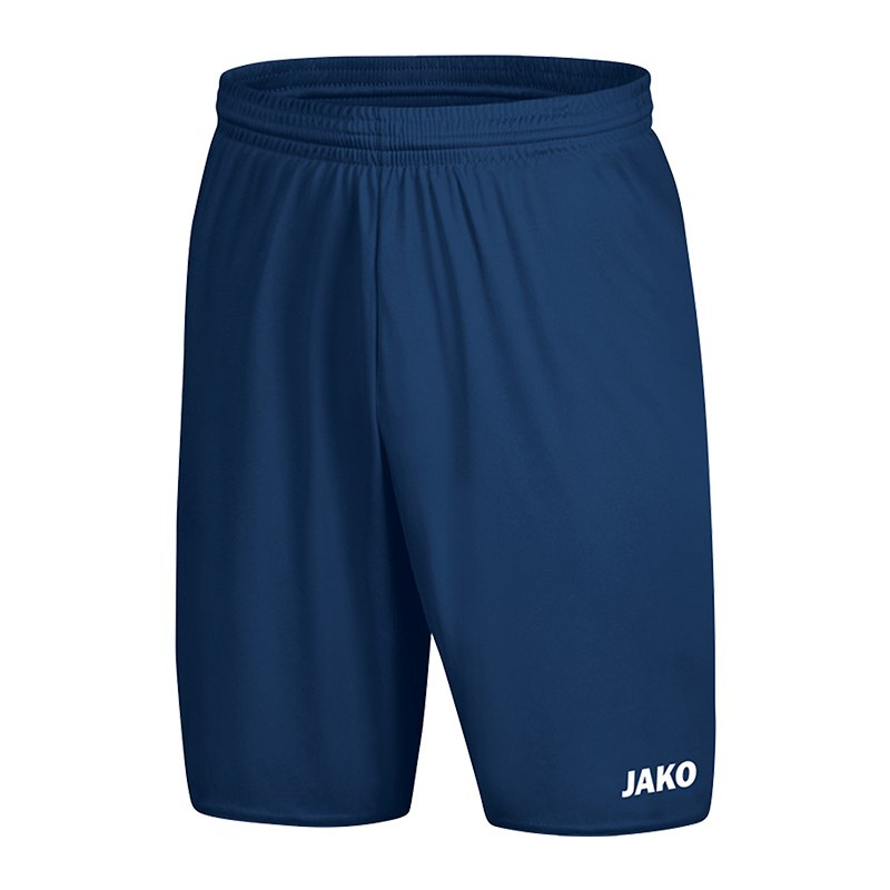 Jako Manchester 2.0 Short ohne Innenslip | blau F09 - Blau