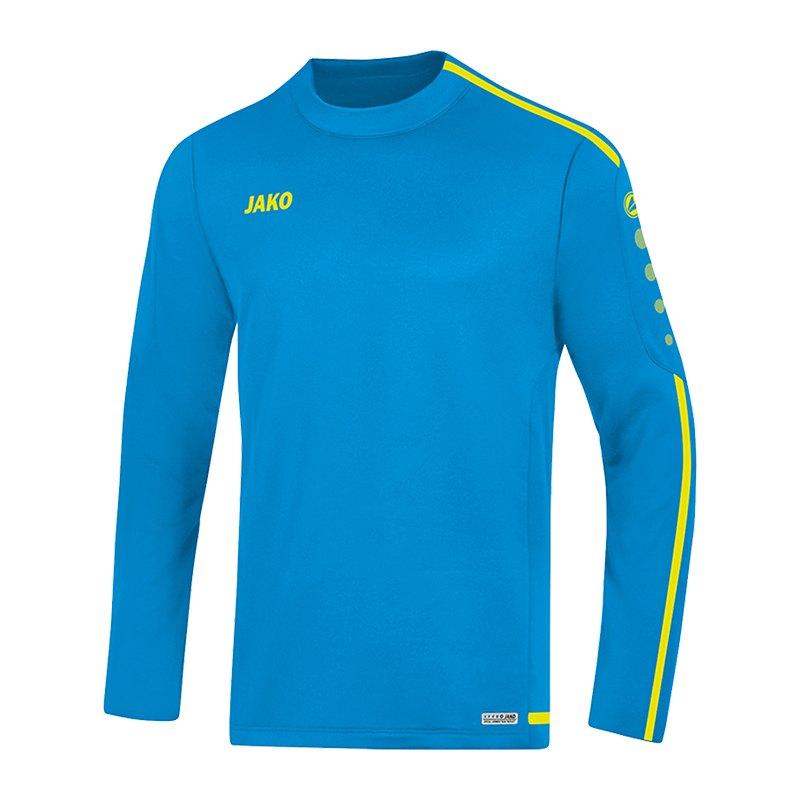Jako Striker 2.0 Sweatshirt | blau gelb F89 - Blau