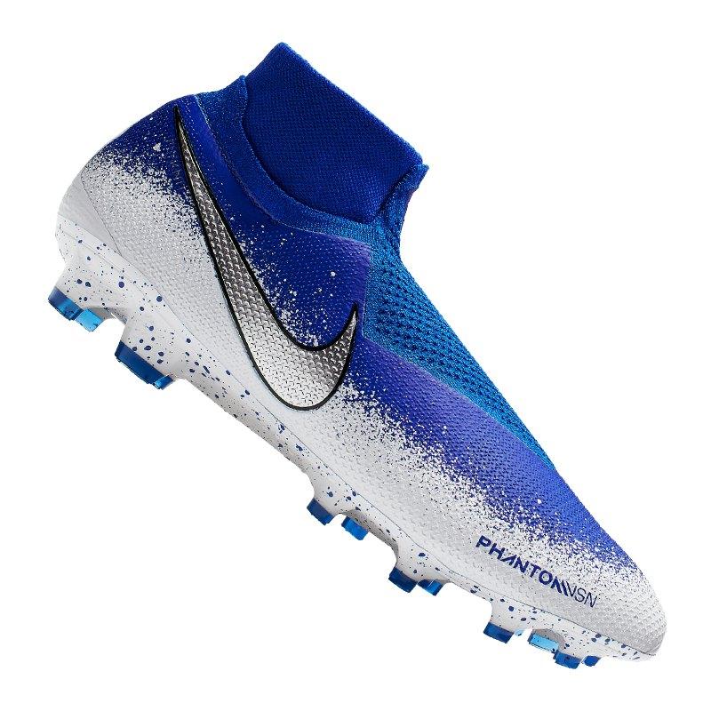 Nike Phantom Vision Elite FG Blau F410 - Blau