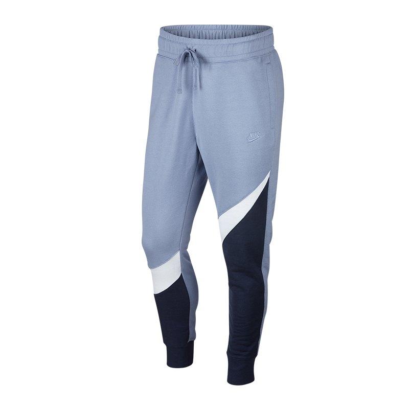 High Fashion preisreduziert zarte Farben Nike Statement Pant Jogginghose Grau Blau F452