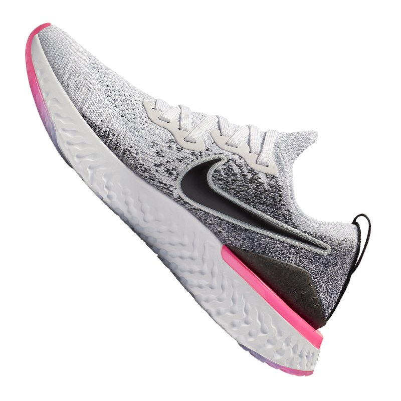 Epic Flyknit Damen Nike Running Weiss React F103 2 P0wk8nO