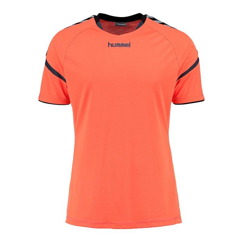 Hummel Authentic Charge Trikot kurzarm F0369 | orange - Orange