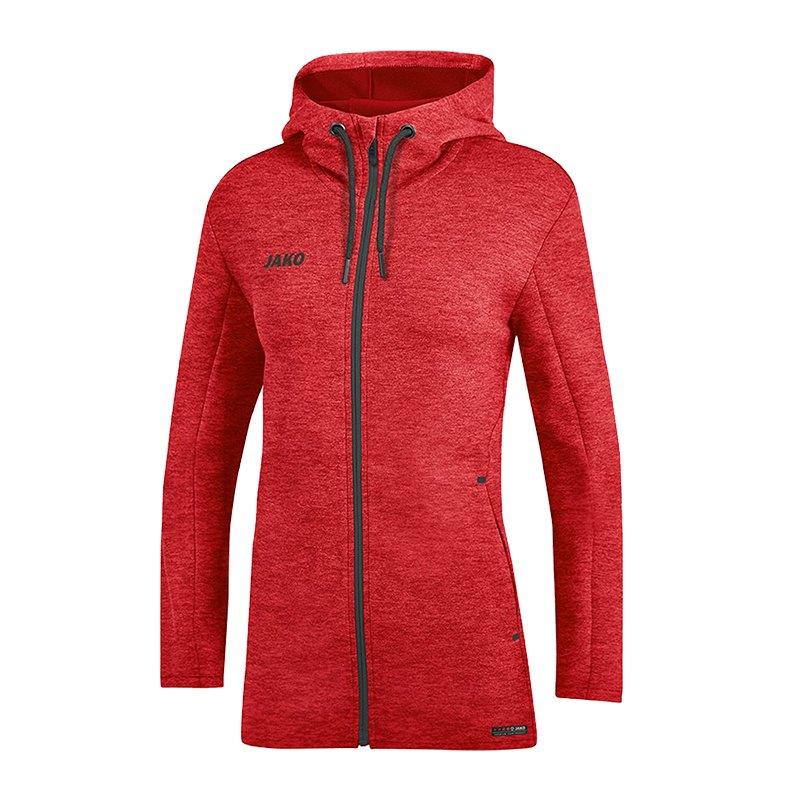 Basic Kapuzenjacke Rot Premium Damen F01 Jako Yv7gyb6f