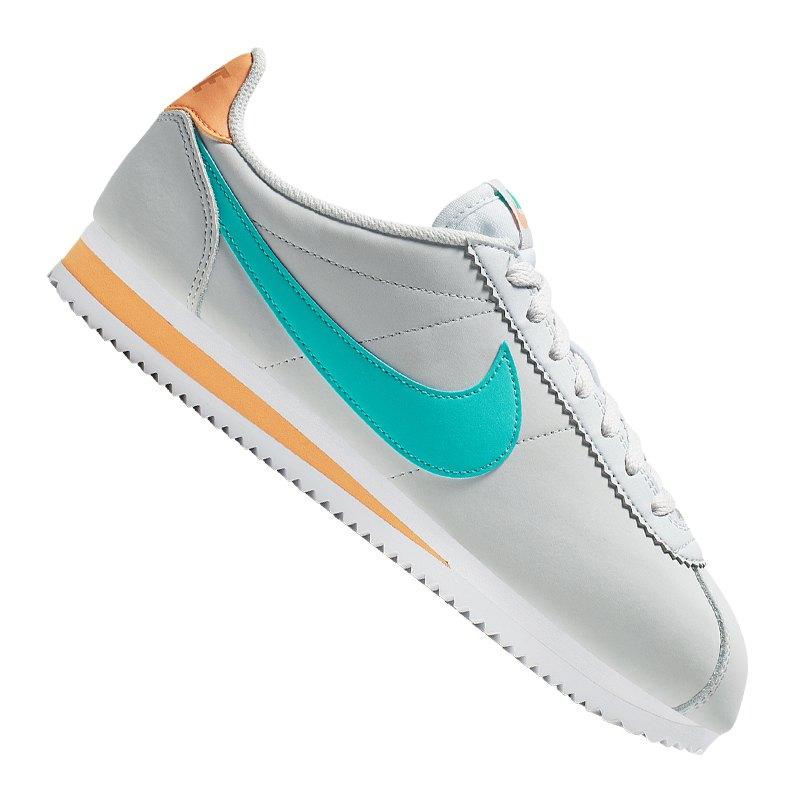 sports shoes 49b12 f525c Nike Classic Cortez Leder Sneaker Damen F019
