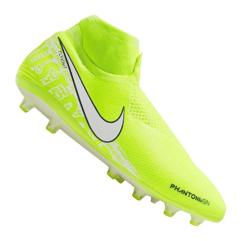 Nike Phantom Vision Elite AG-Pro Gelb Weiss F717 - gelb
