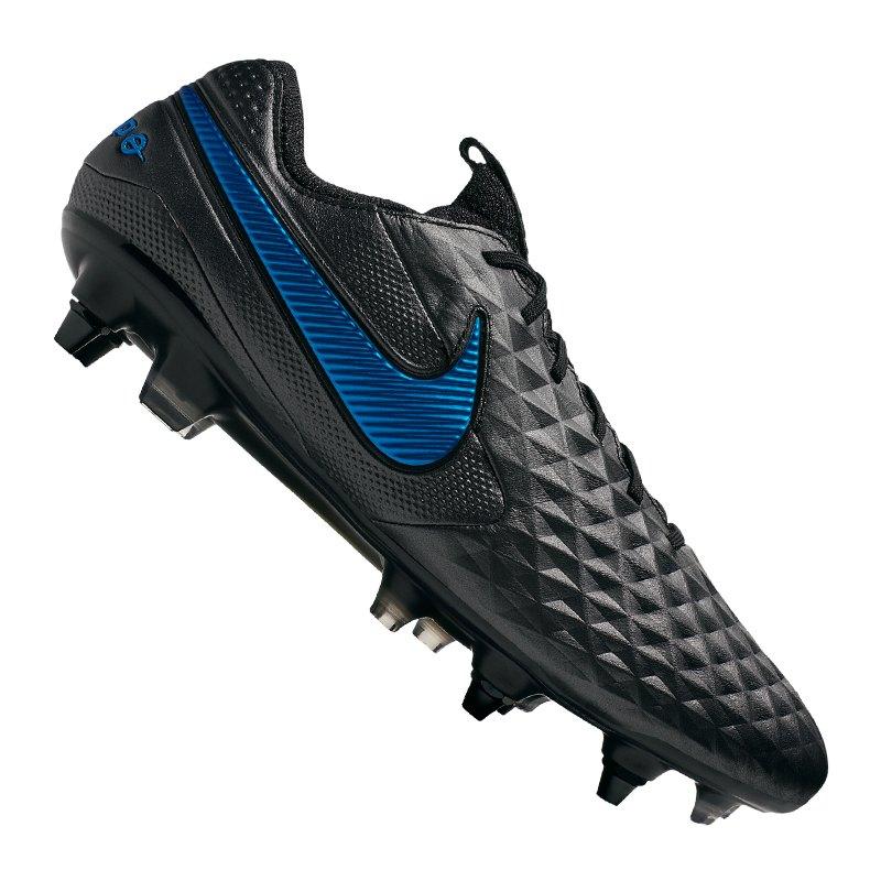 Nike Tiempo Legend VIII Elite SG-Pro AC F004 | - schwarz
