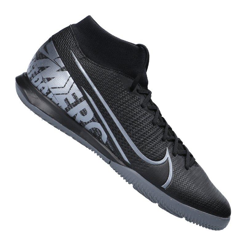 Nike Mercurial Superfly VII Academy IC F001 - schwarz