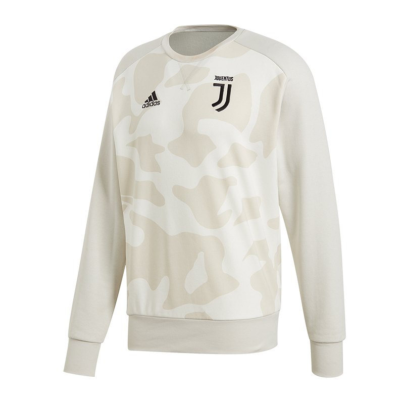adidas FC Juventus Turin Sweatshirt Grau