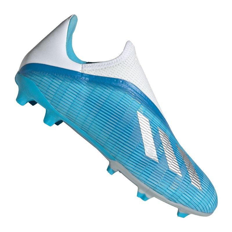 adidas X 19.3 LL FG Blau Weiss - blau