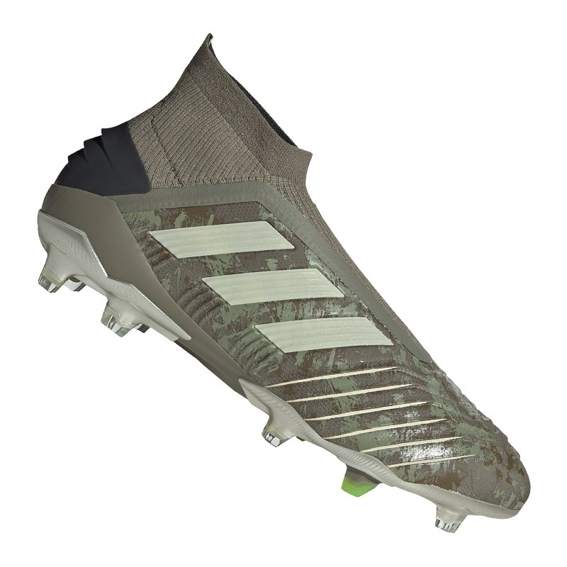 adidas Predator 19+ FG Grün - gruen