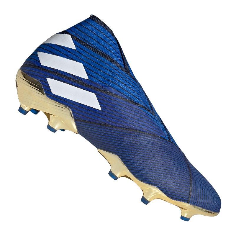 adidas NEMEZIZ 19+ FG Blau | - blau