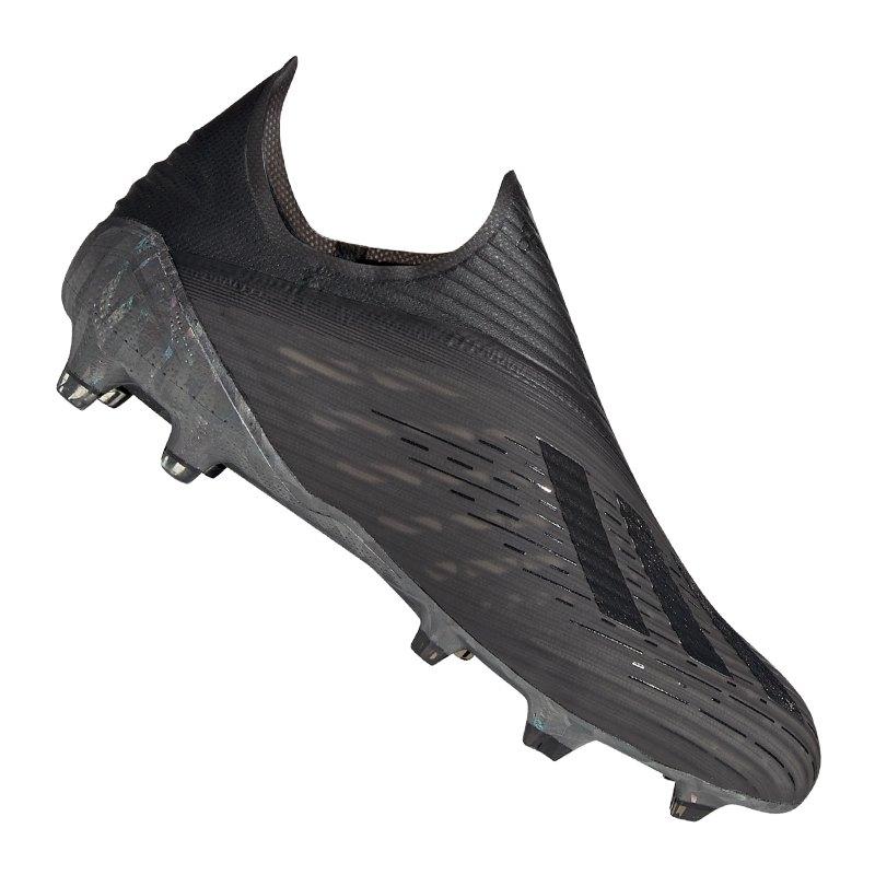 adidas X 19+ FG Schwarz | - schwarz