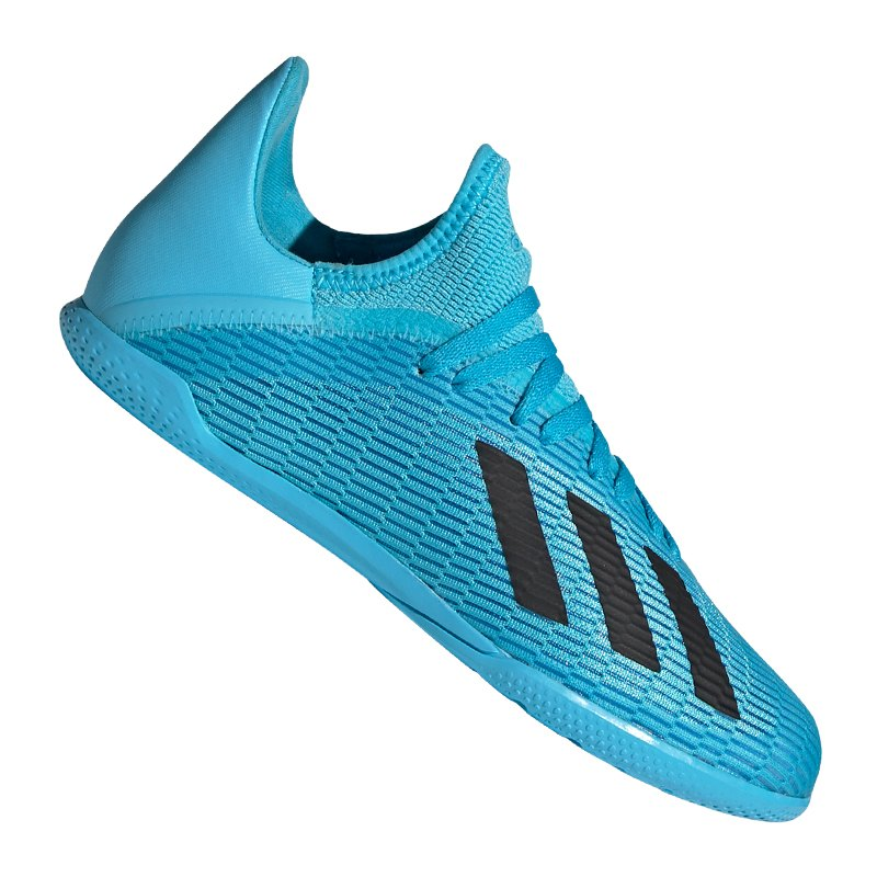 Adidas X 19 3 In Halle J Kids Blau Schwarz