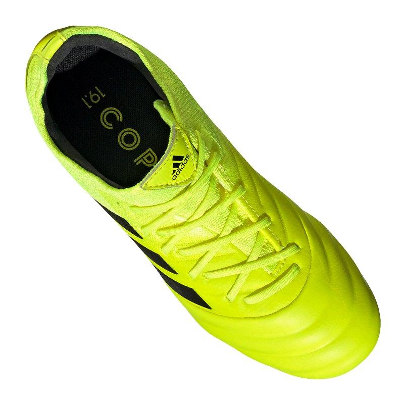 adidas COPA 19.1 FG J Gelb Kids