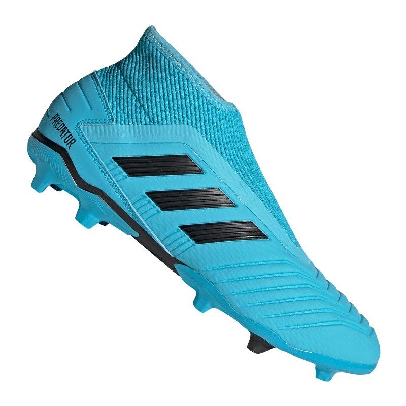 wholesale dealer look for preview of adidas Predator 19.3 LL FG Blau Schwarz