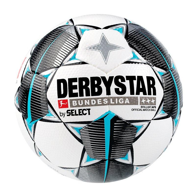 Derbystar Bundesliga Brillant APS Spielball Weiss | F019 - weiss