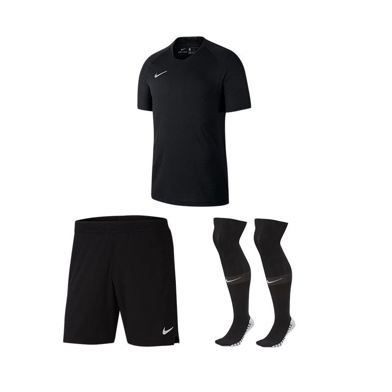 Nike Vaporknit II Trikotset kurzarm Schwarz F010 - schwarz