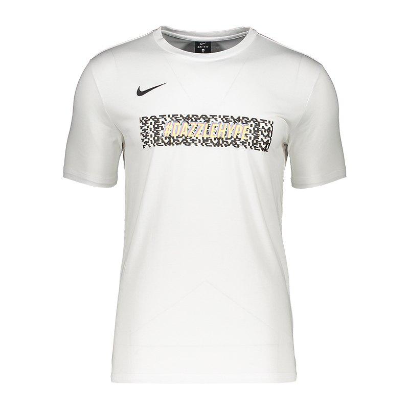 nike camo dazzlehype t-shirt weiss f100 weiss