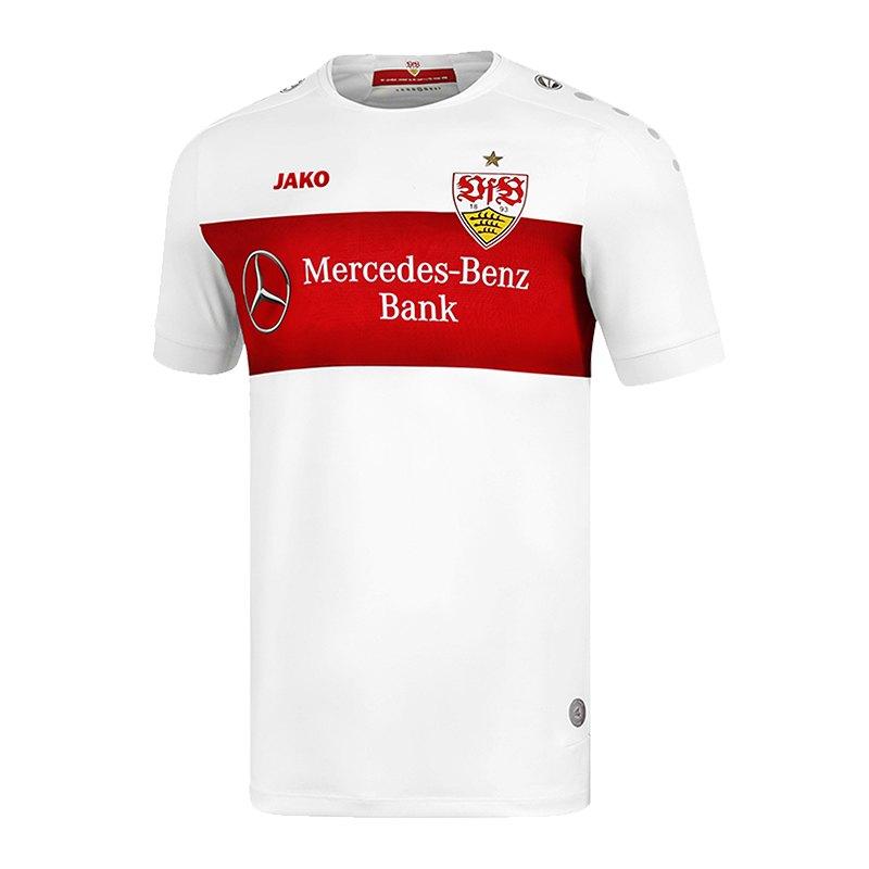 Jako VfB Stuttgart Trikot Home 2019/2020 Weiss F00