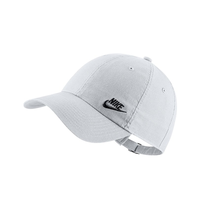 Nike Heritage 86 Classic Cap Kappe Weiss F101 - weiss
