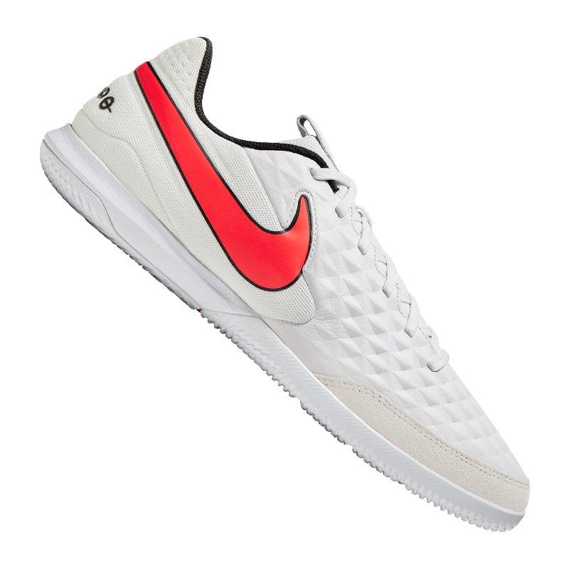 Nike Tiempo Legend VIII Academy IC Grau F061 - grau