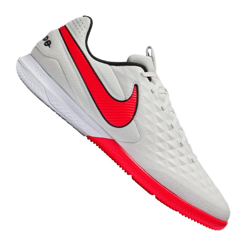 Nike Tiempo Legend VIII Pro React IC Blau F061 - grau