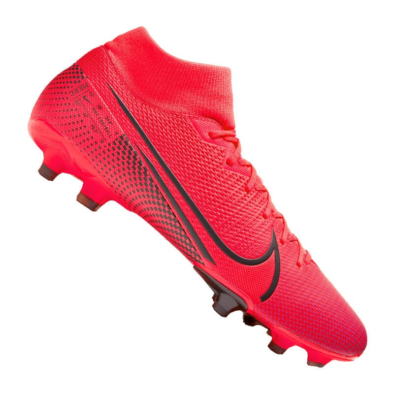 Nike Mercurial Superfly VII Academy FG/MG Rot F606 - rot