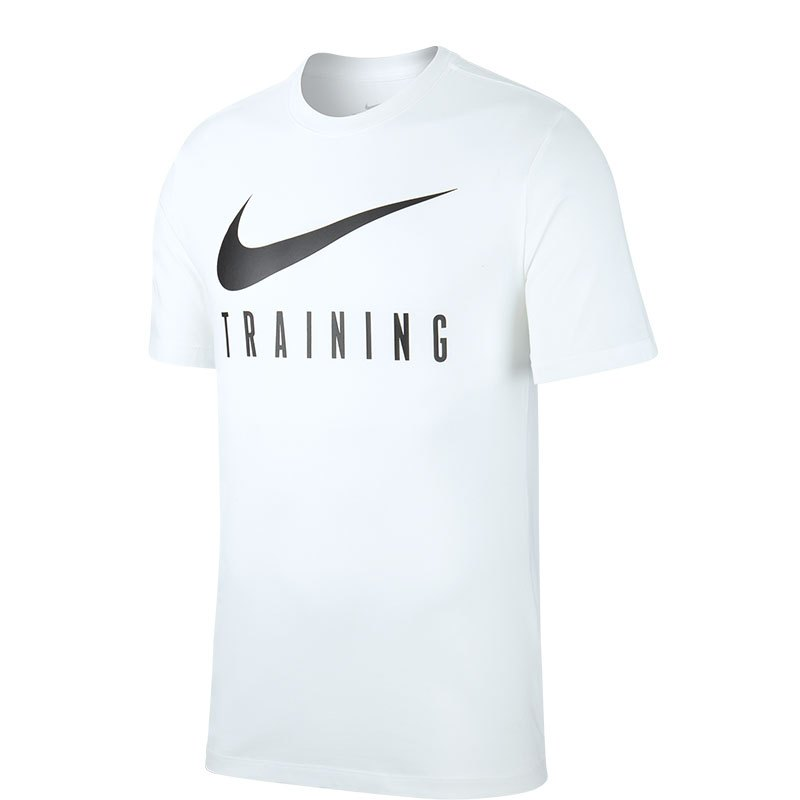 Nike Dri-FIT Trainingstop T-Shirt Weiss F100 weiss