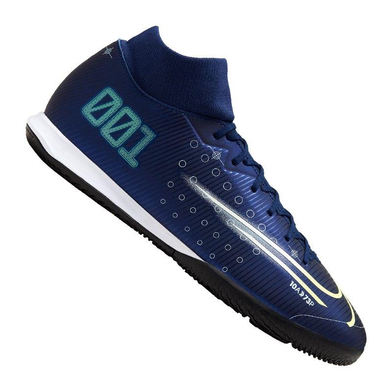 Nike Mercurial Superfly VII Academy IC Blau F401 - blau