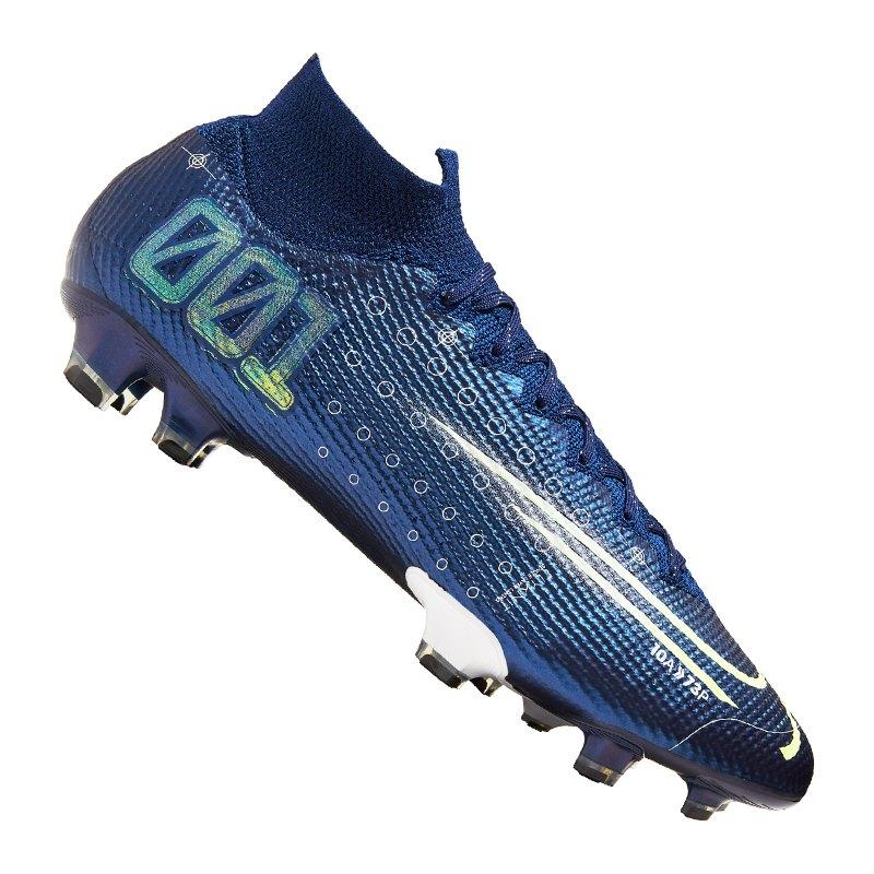 Nike Mercurial Superfly VII Elite FG Blau F401 - blau