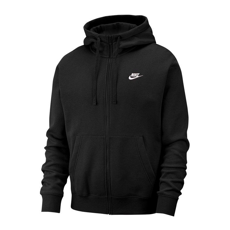 Nike Kapuzenjacke Schwarz