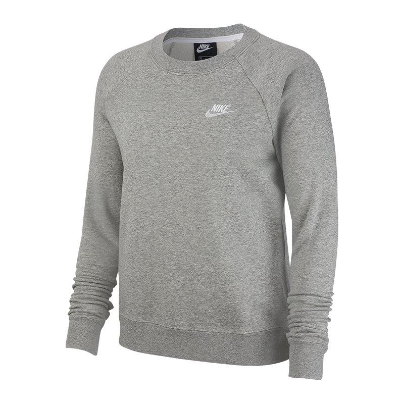 Nike Pullover Damen Weiß Grau