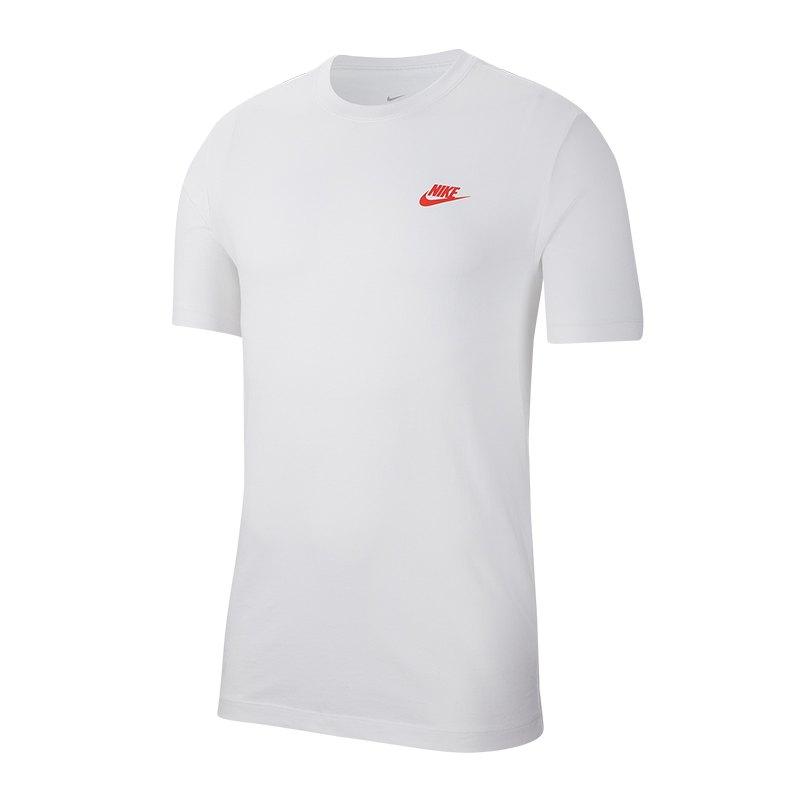 Nike Shirt kurzarm Weiss F100 | Lifestyle | Freizeit ...