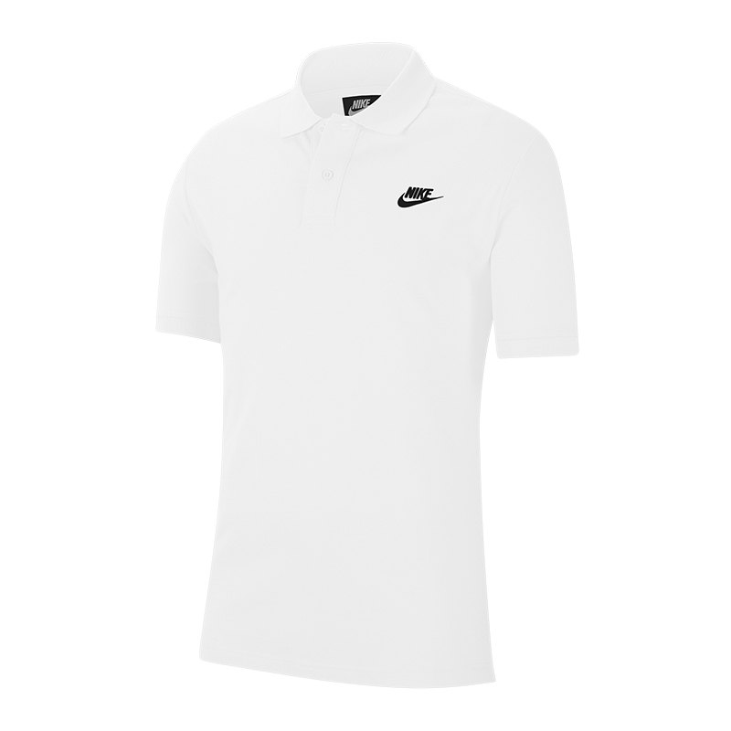 nike polo weiss