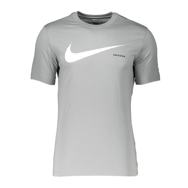 Nike Swoosh T-Shirt Grau F073 - grau