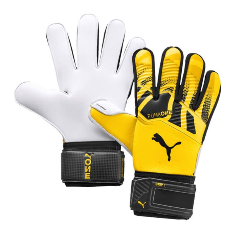 PUMA One Grip 1 RC TW-Handschuh Gelb Schwarz F02 - gelb