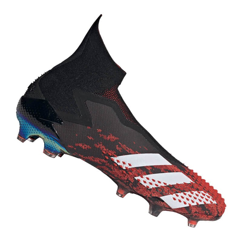adidas Predator 20 FG Schwarz Rot - schwarz
