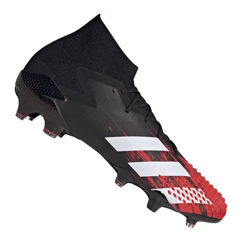 adidas Predator 20.1 FG Schwarz Rot - schwarz