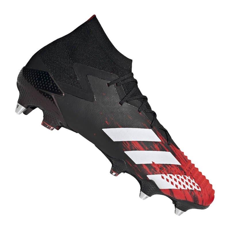 adidas Predator 20.1 SG Schwarz Rot - schwarz