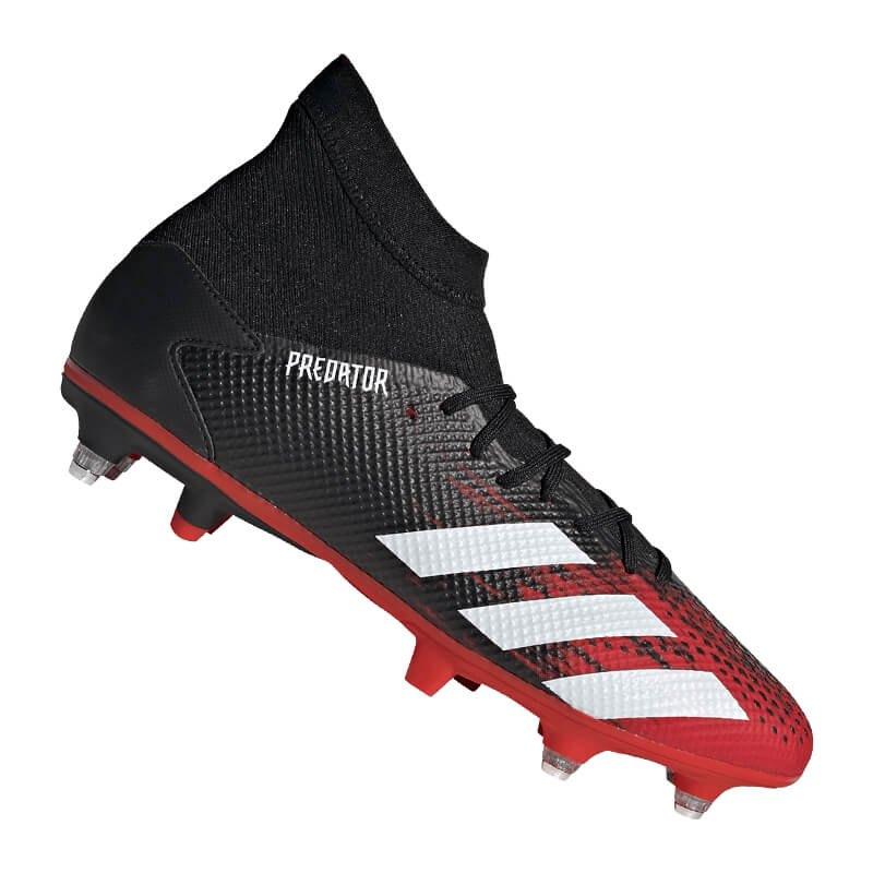 adidas Predator 20.3 SG Schwarz Rot - schwarz